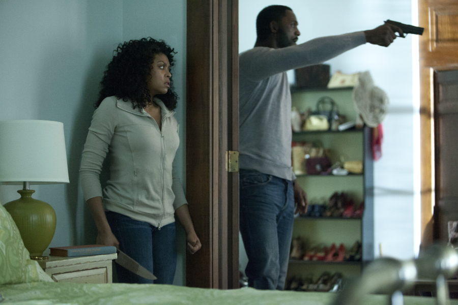 Terri (Taraji P. Henson) and Colin (Idris Elba) in Screen Gems' thriller NO GOOD DEED.