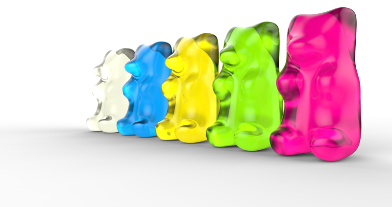 Gummy Bears Colors