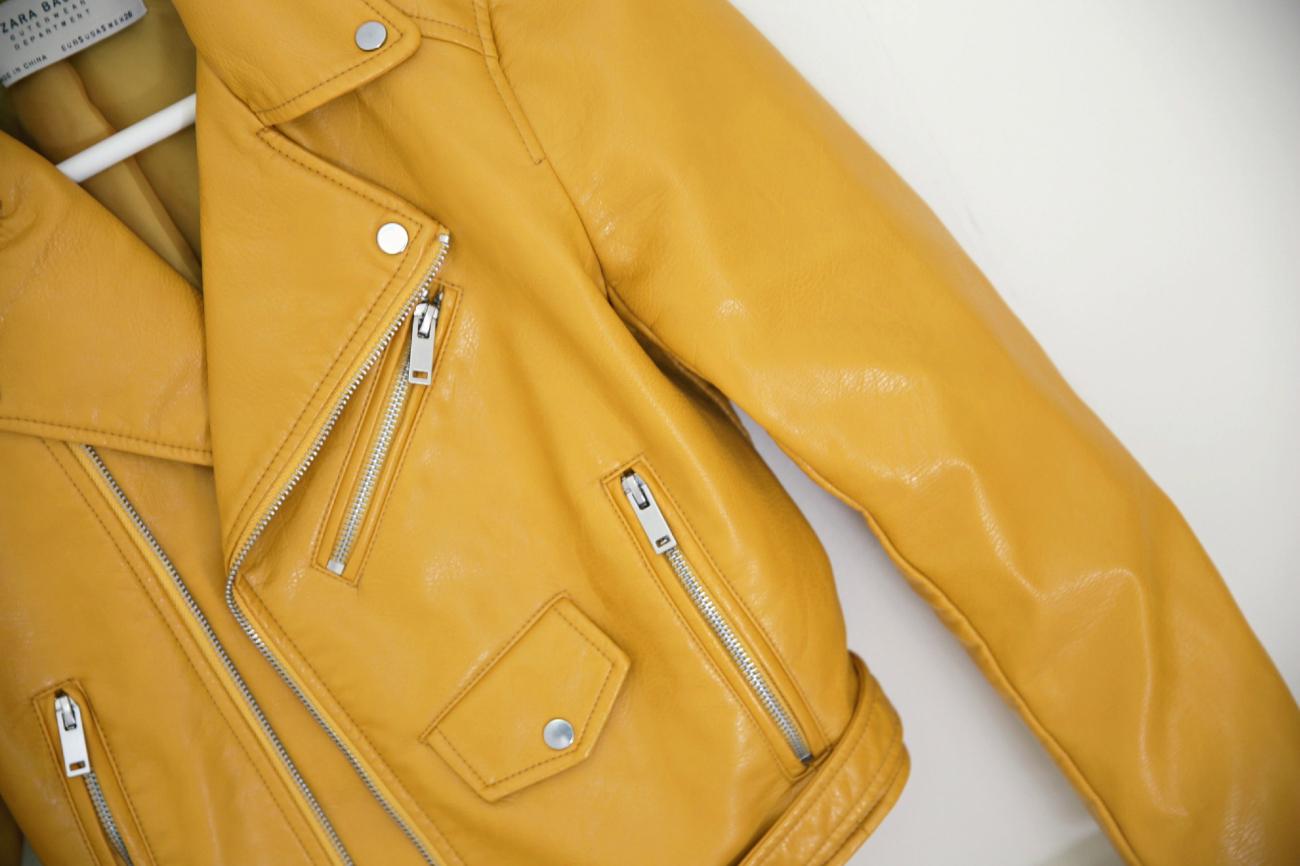 e97ab055 Leather jacket from Zara –
