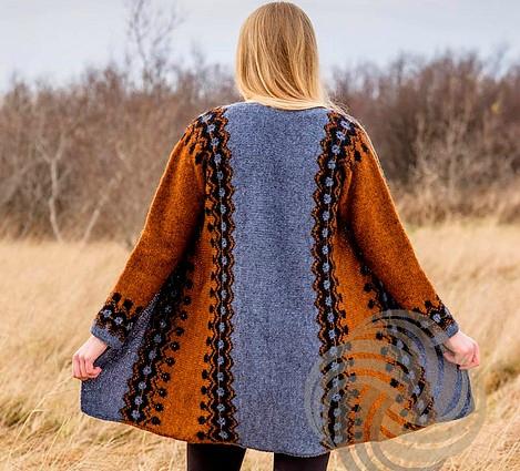 Tynn genser med ribbestriper selges, UBRUKT!