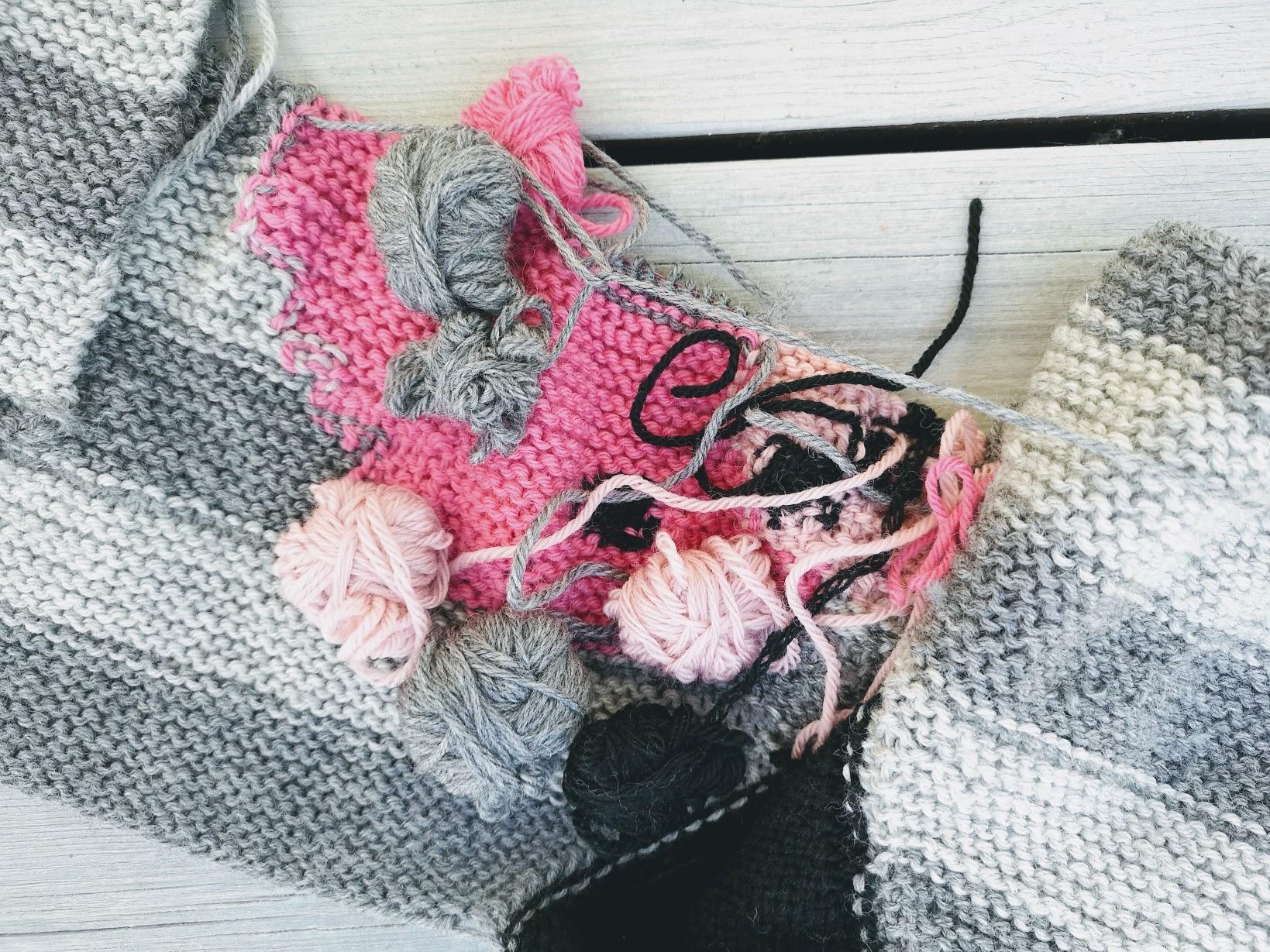 Ballerina tøfler pattern by Kairi Aksnes