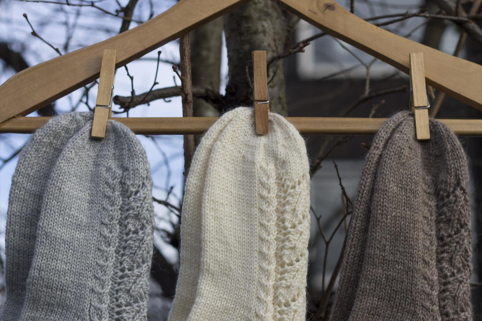 Maja strikker: Påskestrikk