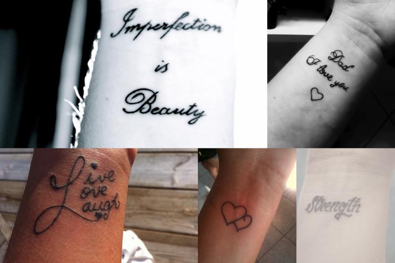 dame tatoveringer