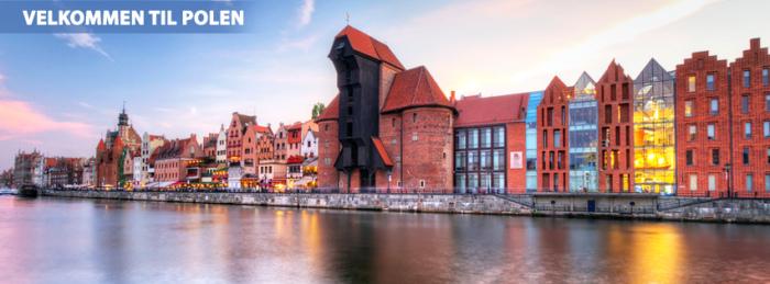 Billig reise til Polen