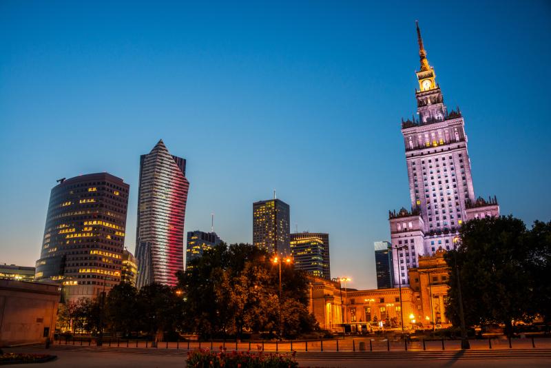 Kultur- og Vitenskapspalasset i Warszawa
