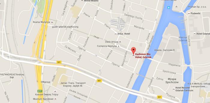 Radisson Blu hotell i Gdansk