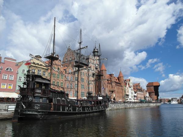 Båttur i Gdansk