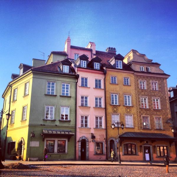 Warszawa – vår tur til Polens hovedstad