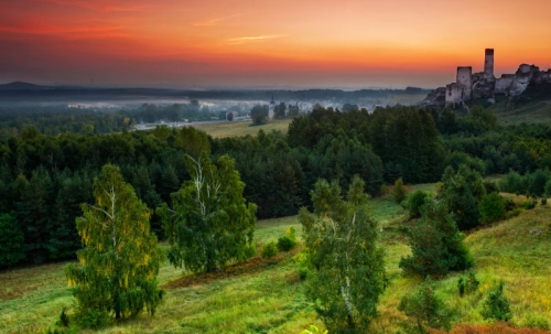 Park Krajobrazowy Orlich Gniazd – én av de vakreste landskapsparkene i Polen