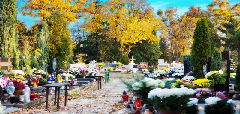 Halloween og den første november i Polen