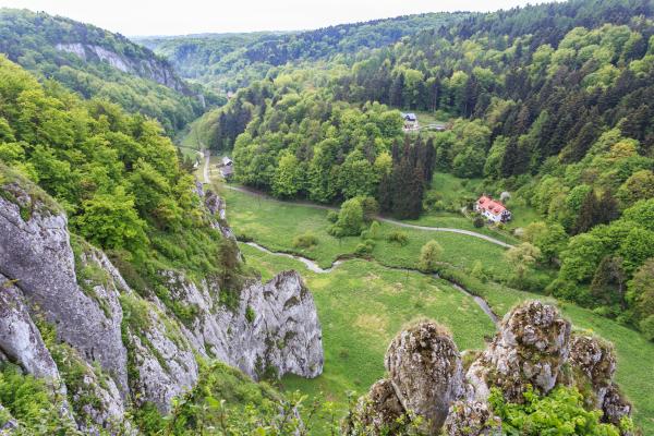 Ojcowski Nasjonalpark – kalksteinens kongedømme
