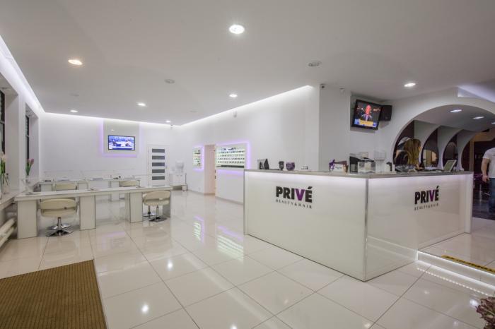 PRIVÉ Beauty & Hair – en skjønnhetssalong i sentrum av byen