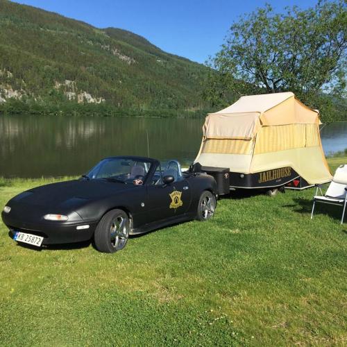 RV camping uten vann sex