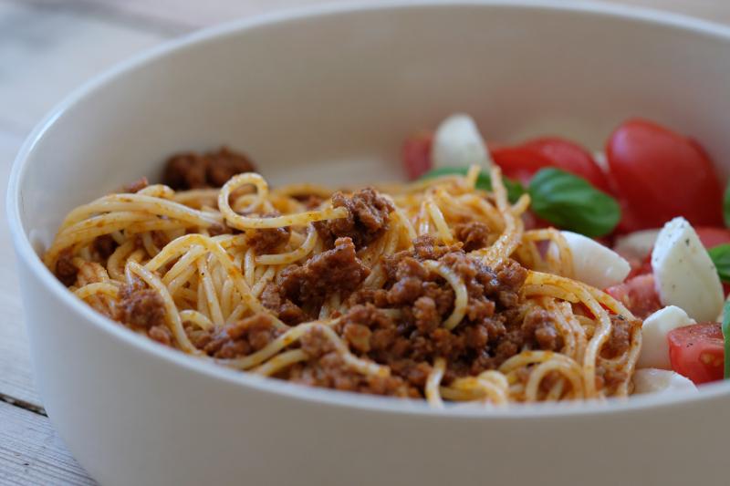 Spagetti med kjøttdeig