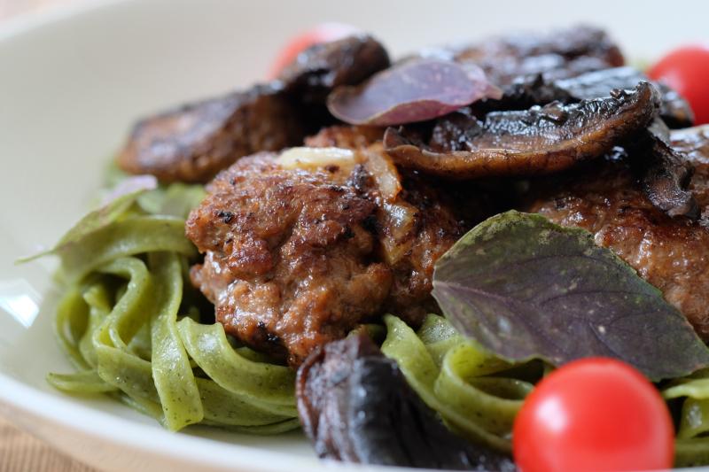Kjøttkaker med italiensk vri