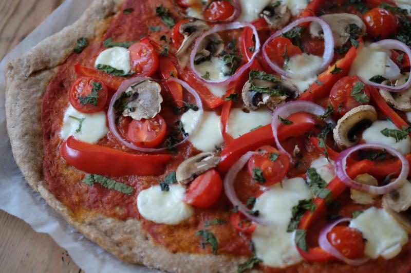 Grønnsakspizza