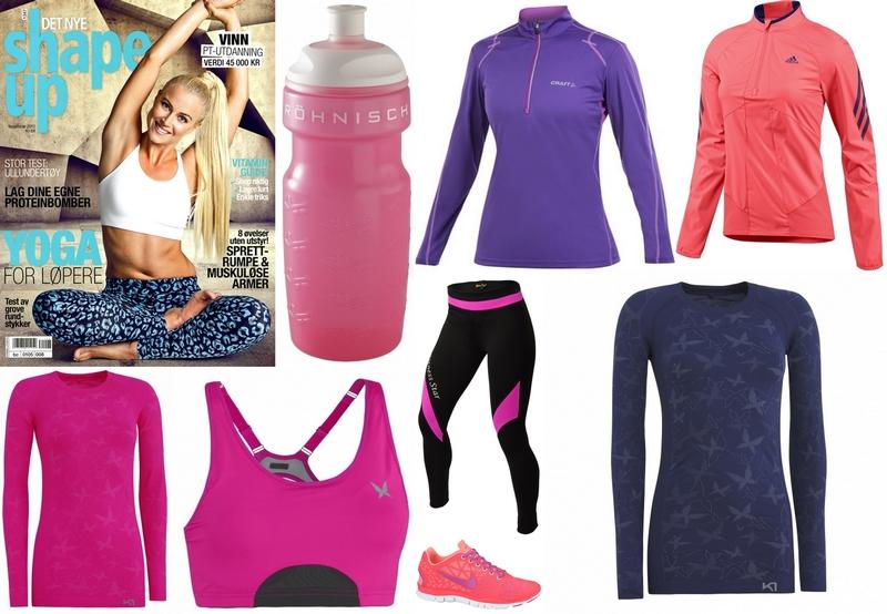 cdb0e77b Til den sporty jenta! Hot treningstøy er in som aldri før, og er en god  motivasjon til å starte å trene!