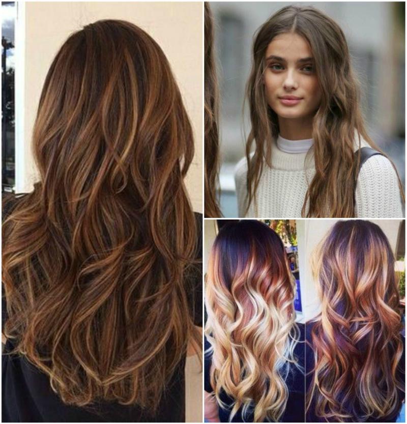 hårsveis langt hår