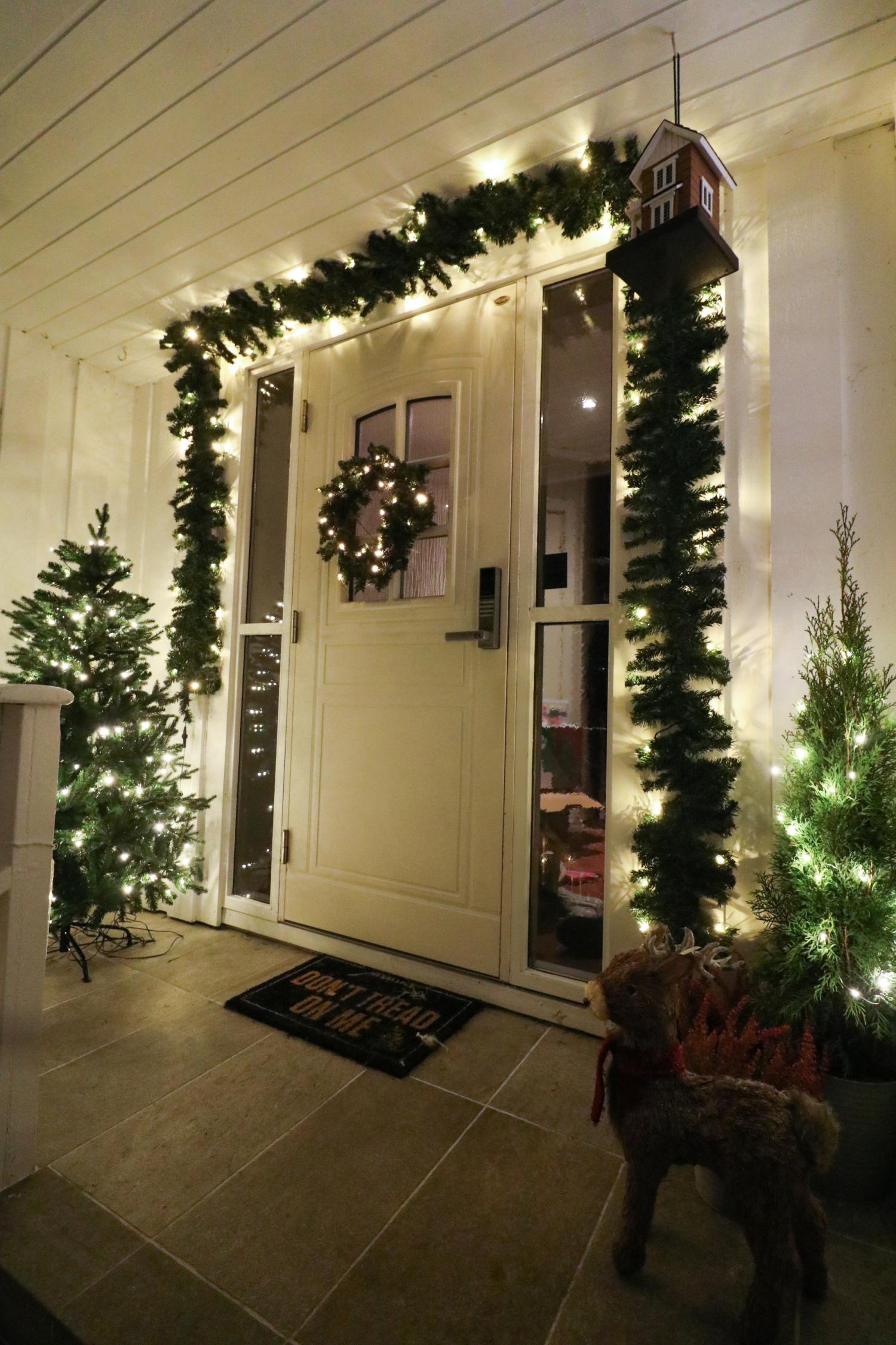 Svært Slik har vi pyntet huset utendørs til jul! VY-06